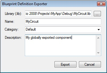 Exporting and importing definitions the dialog is populated with the default information provided by the definition attributes and this information can be modified if necessary malvernweather Gallery